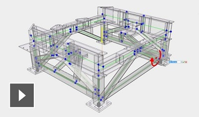 Quickly design and test structural frames